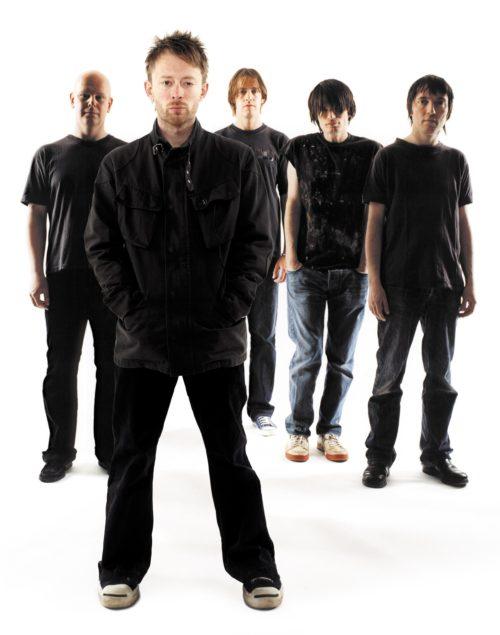 Radiohead promo photo, circa late 1990s.